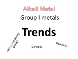Group  I  metals Trends PowerPoint Presentation, PPT - DocSlides