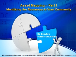 Asset Mapping – Part I