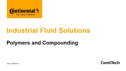 Industrial Fluid Solutions
