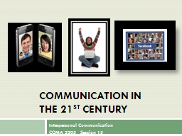 Communication in