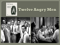 Twelve Angry Men What is Reasonable Doubt?