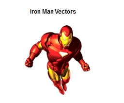 Iron Man Vectors Iron Man's suit has malfunctioned and will only travel in two directions and for a certain amount of time before it cuts out.
