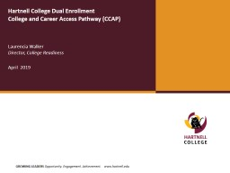 Hartnell College Dual Enrollment