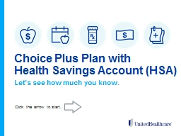 Choice Plus Plan  with