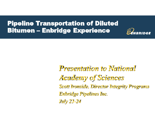 Presentation to National Academy of Sciences Scott Iro