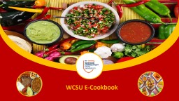WCSU E-Cookbook