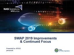 SWAP 2019 Improvements