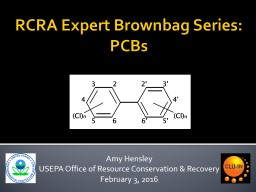 RCRA Expert Brownbag Series: