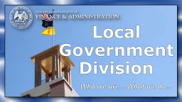 Local  Government  Division