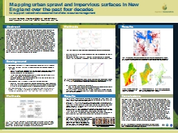 Mapping urban sprawl and impervious surfaces in New England over the past