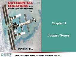 Chapter  11 Fourier Series
