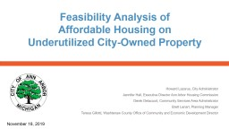 Feasibility  Analysis of