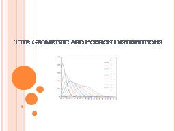 The Geometric and Poisson Distributions