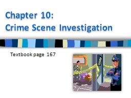 Chapter  10:  Crime PowerPoint PPT Presentation