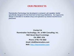 Bed Bug Treatment Certification