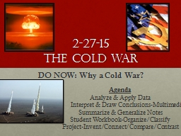 2-27-15 The Cold War