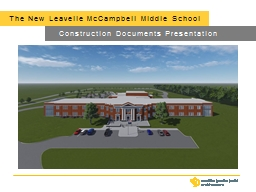The New Leavelle McCampbell Middle School