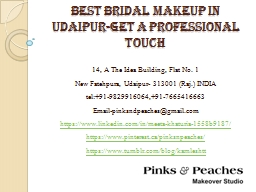 Best Bridal Makeup in Udaipur-Get a Professional Touch