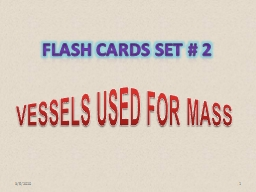 3/5/2010 1 FLASH CARDS SET # 2