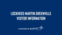 Lockheed martin  greenville