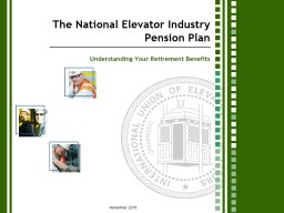 The National Elevator Industry