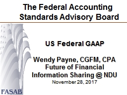 The Federal Accounting