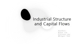 Industrial Structure