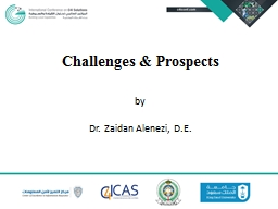 Challenges & Prospects