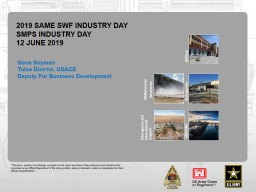 2019 SAME  SWF Industry Day