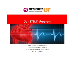 Our STEMI Program Leesa Wright, RN, CCCC, CCRN