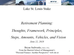Lake St. Louis Stake