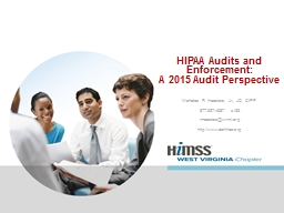 HIPAA Audits and Enforcement: