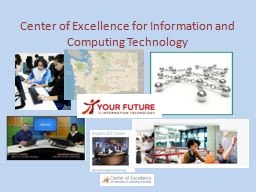 Center of Excellence for Information and Computing Technology