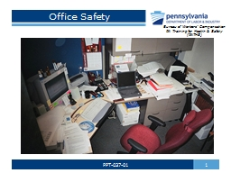 Office Safety 1 PPT-037-01