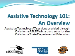 Assistive Technology AT