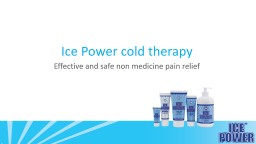 Ice Power  cold   therapy