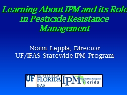 Learning  About IPM and its Role in Pest