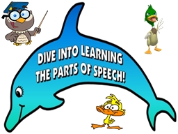 Learning the parts of speech is a focus of Language Arts instruction and is vital stage in writing
