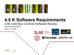 4.5  K  Software Requirements