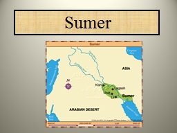Sumer Mesopotamia was located in