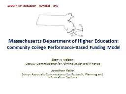 Massachusetts Department of Higher Education: