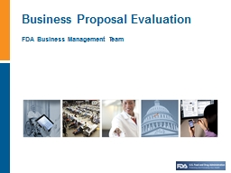 FDA Business  Management