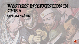 Western Intervention in China