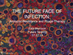 THE FUTURE FACE OF INFECTION: Antibiotic Resistance and Phage Therapy