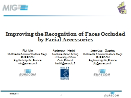 Improving the Recognition of Faces Occluded by Facial Accessories