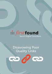 Search Engine Consultants DISAVOWING POOR QUALITY INKS