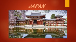 JAPAN Geography Japan is made up of islands that are really undersea mountains and volcanoes.