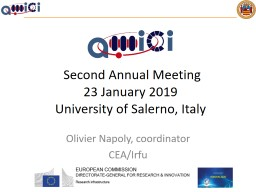Second Annual Meeting 23 January 2019