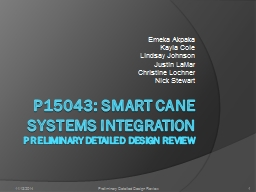 P15043: Smart Cane Systems Integration