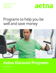 Programs to help you be well and save money